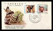 Dr Who 1989 El Salvador Fdc America C238013