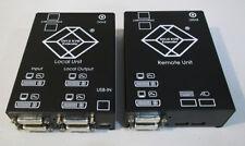 Black Box DVI-D CatX-KVM-Extender DualHead
