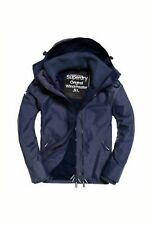 NEW RRP£74.99 MENS XL SIZE SUPERDRY POP ZIP HOODED TECHNICAL WINDCHEATER COAT