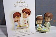 "2009 Hallmark QXC9015 "" Mary's Angel---A Newborn Blessing"" Ornament"