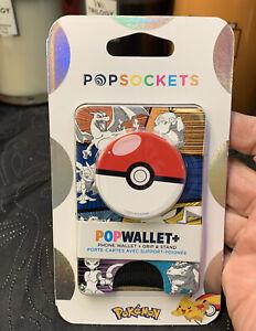 POPSOCKETS POKEMON POP WALLET + Poke Ball
