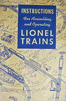 Lionel Postwar 1948 Instructions For Assembling and Operating Trains Booklet
