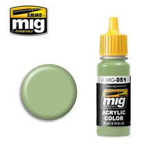Ammo of Mig A.MIG-051 Medium Light Green - Peinture Acrylique 17ml