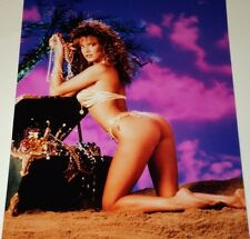 RACQUEL DARRIAN /  STUNNING  8 X 10   COLOR  PHOTO