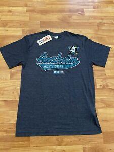 CCM Men's Anaheim Mighty Ducks Shirt Small