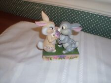 "Disney Traditions/Jim Shore- 4"" H Figurine- Thumper & Blossom-Mib-2020"