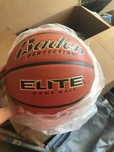 New In Package Baden Perfection Elite 29.5 Inch Men's Basketball Brand Game Ball