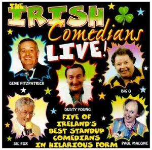 Irish Comedians Live - Various CD