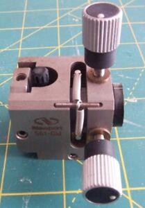 Newport Gimbal Fiber Chuck Positioner  -- 561-GM -- Used (B30)