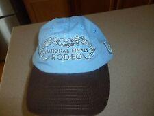 Wrangler National Rodeo Finals Hat Cap Adjustable