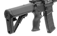 Leapers Tactical RBUS1BMS Black PRO Mil-spec Combat Ops S1 Tactical Butt Stock