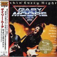 GARY MOORE-ROCKIN' EVERY NIGHT (LIVE IN JAPAN)-JAPAN MINI LP SHM-CD Ltd/Ed G00