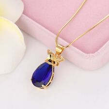 """Women's Pendant Necklace 18k Yellow Gold Filled 18"""" Chain"""