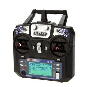 Système radio émetteur LCD Flysky FS-i6 6CH 2.4G AFHDS 2A pour drones RC