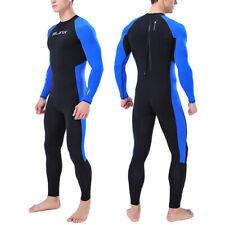Traje de Neopreno Hombre Cuerpo Completo Super Ajustado Buceo Natación Surf S ~