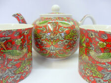 Tea for 2 in Red strawberry thief design by The Abbeydale collection.