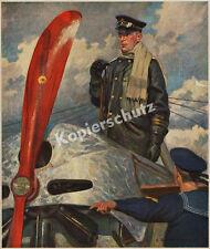 E. Godbersen Kaiserliche Marine Seeflieger Fokker E.III Pilot Kiel-Holtenau 1914