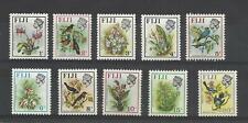 FIJI 1971  Birds & Flowers  umm / mnh short set to 20c