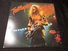 1979 Ted Nugent - State Of Shock LP EX/VG+ Epic – FE 36000