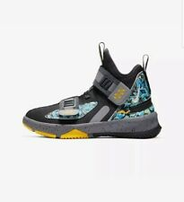 Nike LeBron Soldier 13 FlyEase (GS) Youth CJ1317-070 Black UK 5.5 EU 38.5