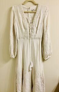 Talitha XS Cotton Beach Wedding Boho Vintage Dress