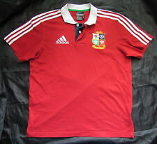 BRITISH AND IRISH LIONS RUGBY shirt jersey ADIDAS Australia 2013 /adult SIZE L
