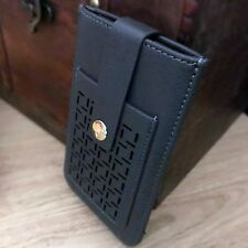 Covert Leather Slip Case High End Pouch Wallet  iPhone 8 Grey
