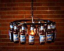 Beer Bottle Chandelier Beer Rack Light Lighting Beer Decor Pendant Style