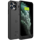 iPhone 11 Pro Qi Wireless Charging Battery Case External Backup Charger Cover
