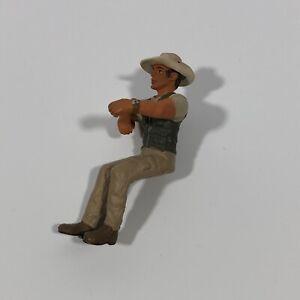 Schleich Safari Truck Driver Figure Only #42004 Rider Man 2008