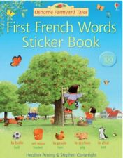 First French Sticker Book (Farmyard Tales)-Heather Amery, Stephen Cartwright
