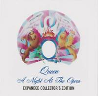 QUEEN  EXPANDED COLLECTOR'S EDITION / A NIGHT AT THE OPERA  :Press 2CD F/S