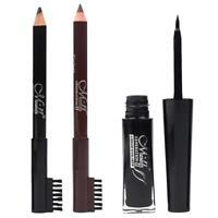 Mascara Volume de Cils Extra-Noir Curling longue+ Crayons à Sourcils