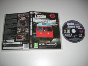LONDON UNDERGROUND SIMULATOR - Circle Line - World Of Subways 3 Pc DVD Rom nm