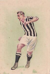 Calcio/Football Cartolina illustrata anni '30 originale