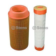 102-392 & 102-388 Inner & Outer Air Filter Combo Fits Kubota K3181-82250, K3181