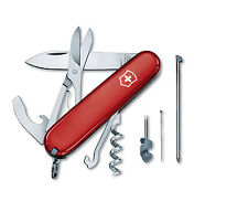 NEW VICTORINOX SWISS ARMY 91mm KNIFE RED COMPACT 15 FEATURES BOXED 54941