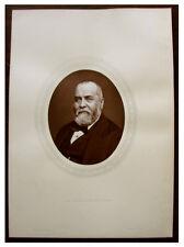 1880 Original Photograph - SIR PHILIP CUNLIFFE OWEN - South Kensington Museum