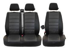 Auto Sitzbezüge Sitzbezüg maß VW Caravelle T5 Kunstleder 2+1 Schonbezüge LEDER