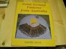 Point Ground Patterns From Australia Lace Making Craft Book- Elwyn Kenn