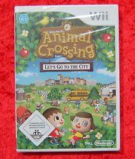 Animal Crossing Let´s go to the City Nintendo Wii Spiel, Neu, deutsche Version