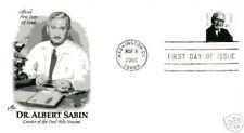 3435 87c Dr. Albert Sabin Artcraft FDC