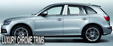 Audi Q5 Stainless Steel Chrome Pillar Posts by Luxury Trims 2009-2012 (6pcs)