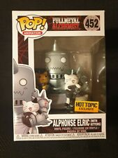 Funko Pop! Animation! Full Metal Alchemist! Alphonse Elric with kittens #452 Hot