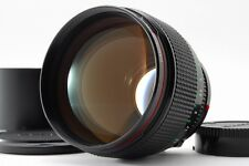 【AB Exc+】 Canon New FD NFD 85mm f/1.2 L MF Lens w/ Hood, Caps From JAPAN #3109