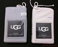 Ugg Hayden Garment Washed Standard Pillowcases 2-Pack Standard King Oatmeal Gray