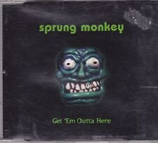 Sprung Monkey-Get Em Outta here cd maxi single