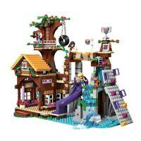 Compatible with Legoinglys Friends Adventure Camp Tree House Emma Mia Figure