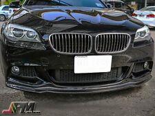 For 2011-2016 F10 M-Sport 528i 530i 550i AK Style Carbon Fiber Front Bumper Lip