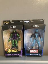 Marvel Legends- Serpent Society & Rock Python (No BAF)